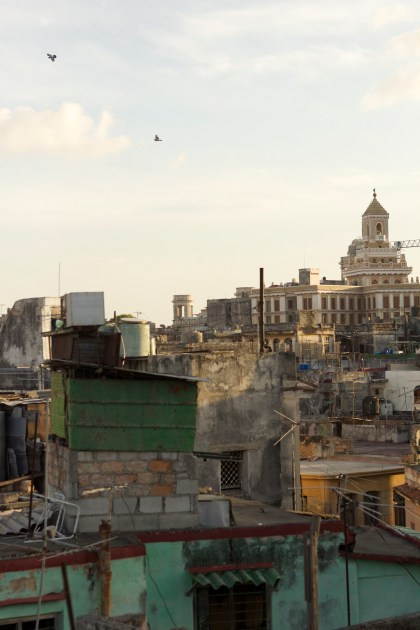 Havana from the rooftop