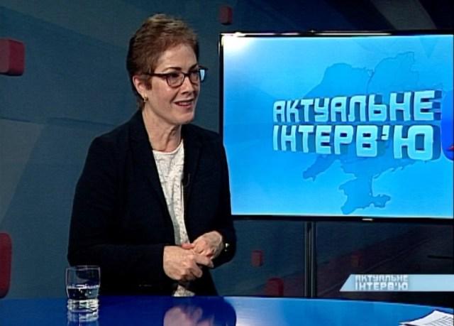 АКТУАЛЬНЕ ІНТЕРВ'Ю. МАРІ ЙОВАНОВИЧ. 07. 02.2019