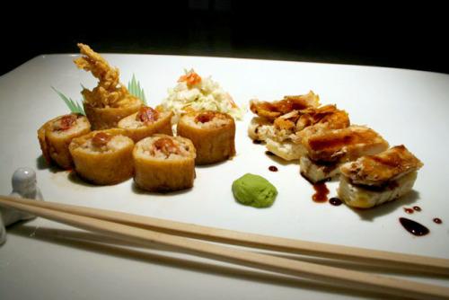 Spicy Chicken Sushi (Fancy Popeyes Chicken)