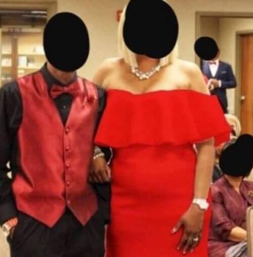 Фотограф перекрасил платье свекрови, явившейся на свадьбу ...