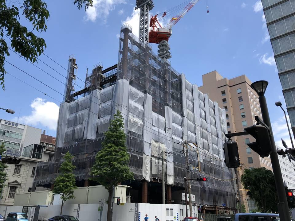 ハイアット リージェンシー 横浜(2019年5月の様子