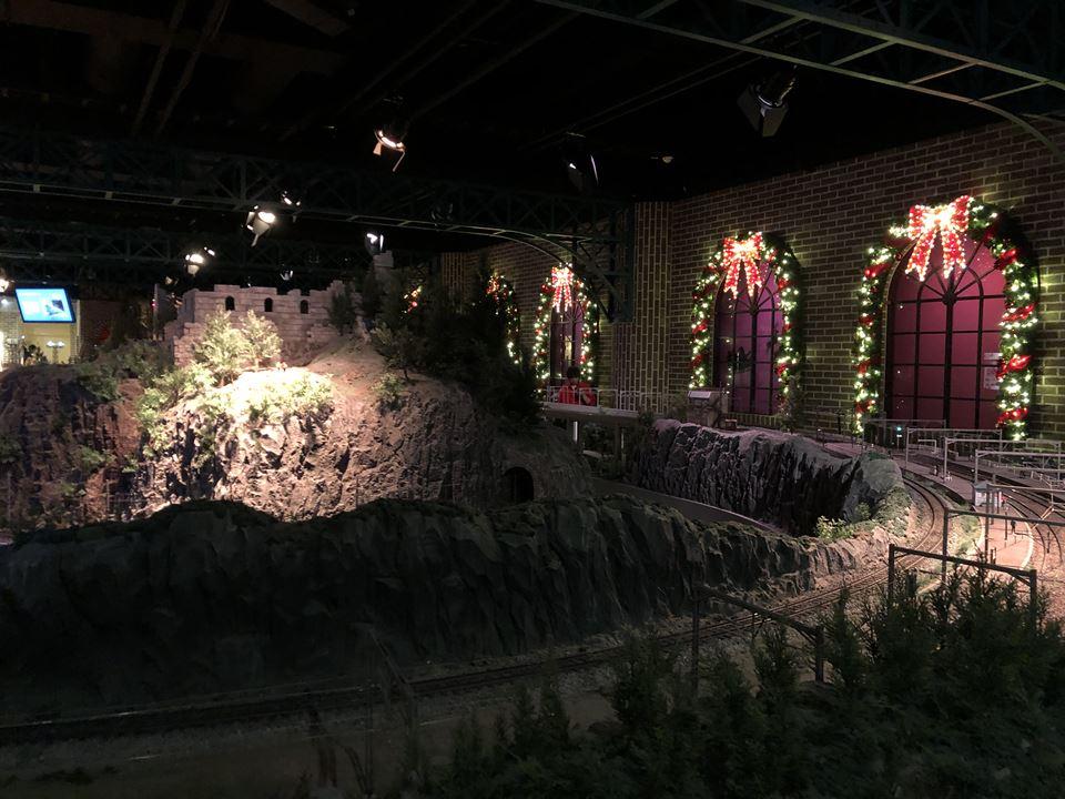 原鉄道模型博物館のジオラマ写真