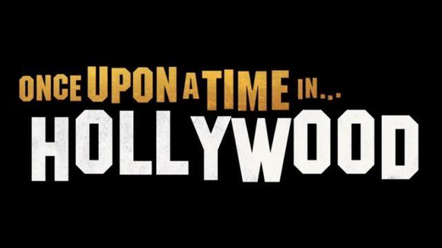 映画「ワンス・アポン・ア・タイム・イン・ハリウッド」のロゴ