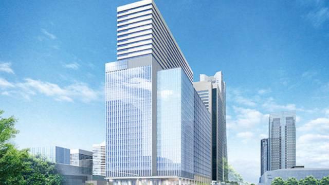 (仮称)みなとみらい21中央地区37街区開発計画のイメージパース