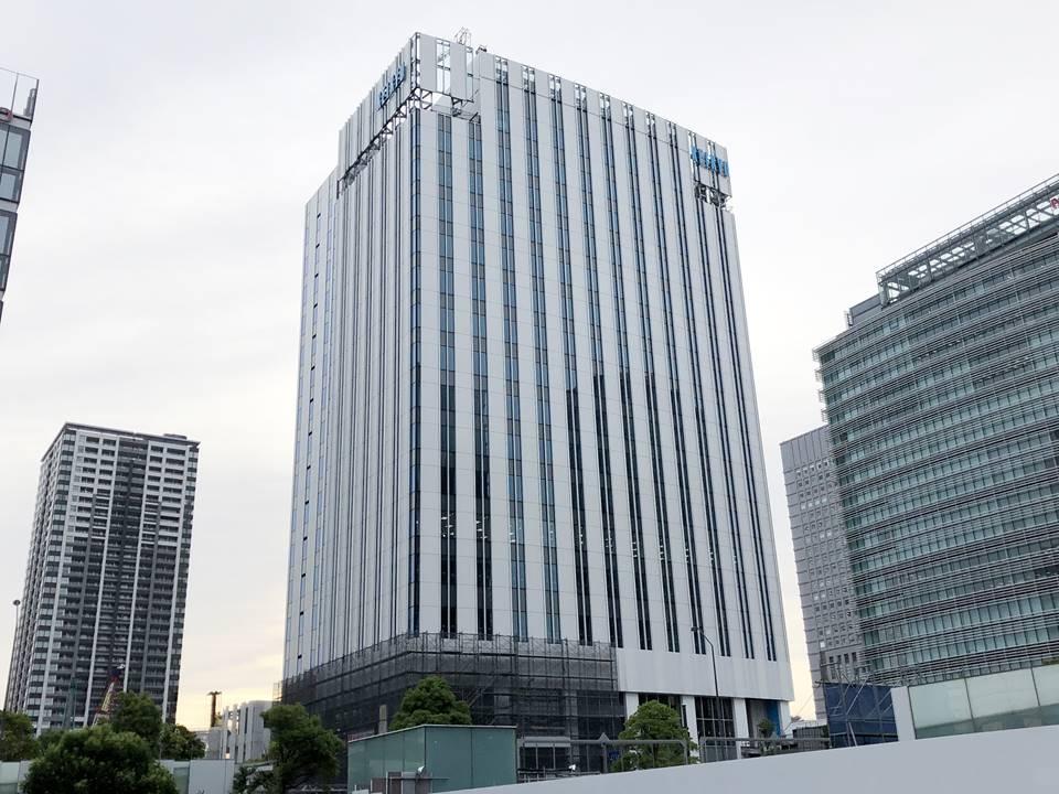 みなとみらいに建設中の京急グループ本社ビル