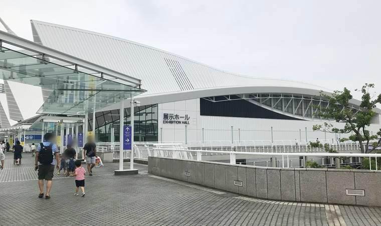 パシフィコ横浜の展示ホール