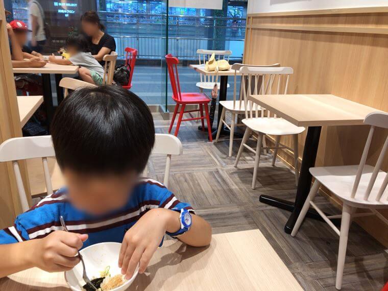 川崎ルフロンのフードコートにあるスシローコノミ飲食メニュー
