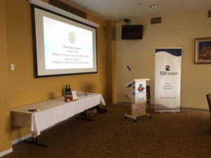 Rotary Club of Footscray 20 Ways To Achieve Your Purpose With LinkedIn with Sue Ellson