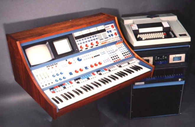Buchla System 500 hybrid analogue-digital instrument 1971