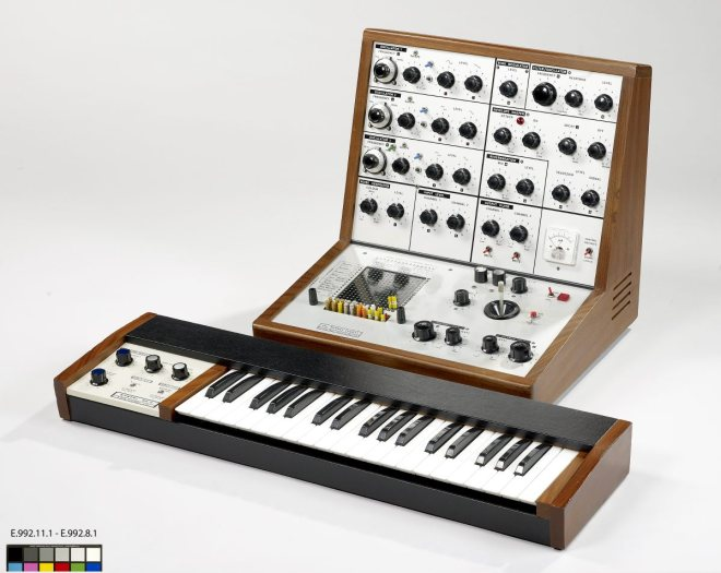 VCS3 with DK1 keyboard