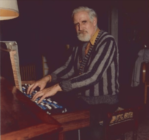 Microtonal composer Bill Coates playing the Archiphone