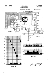 Eremeef's patent for an electro-optical instrument using film strips.