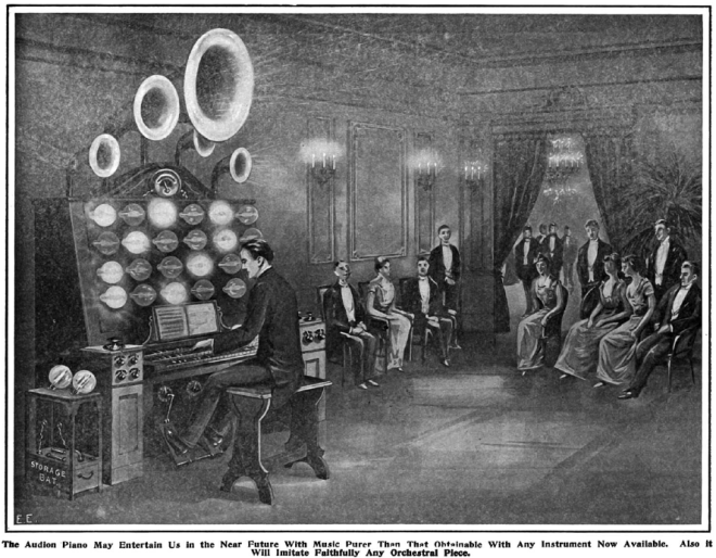 """Audion Bulbs as Producers of Pure Musical Tones"" from 'The Electrical Experimenter' December 1915"
