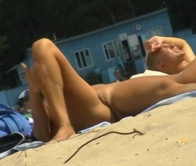 Beach Voyeur Porn Featuring Two Hot Girls And A Guy Sunbathing Naked Upornia Com