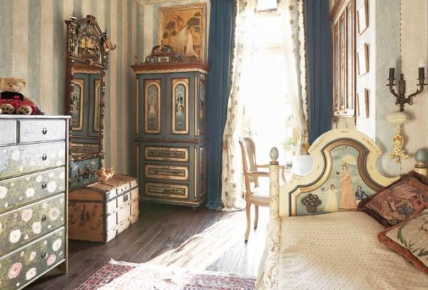 Детская комната в стиле русской дворянской усадьбы первой
