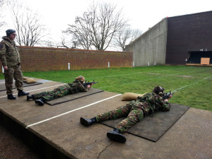 1220 cadets firing the L98-A2 rifle