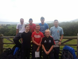 1220 cadets after their expedition.