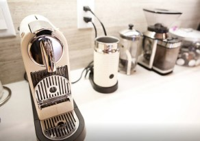 Great Appliances, and I'll leave you plenty of Nespresso Capsules to get you started!