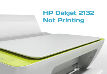 The test page also displays print quality. Solved 10 steps to resolve HP Deskjet 2132 not printing