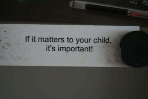 If it matters...