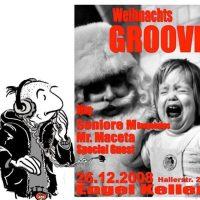 1234rock am Plattenteller beim Groove am 26.12 im Engelkeller/ Crailsheim