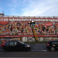 Wo ist der denn, der Bombing-Graffiti-Krieg?