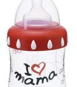 Bibi Fles - I Love Mama brede hals 150ml