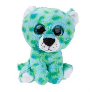 Kamparo pluchen knuffel Cheetah 16 cm junior blauw