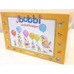Bobbi boekjes uitdelen 12 stuks
