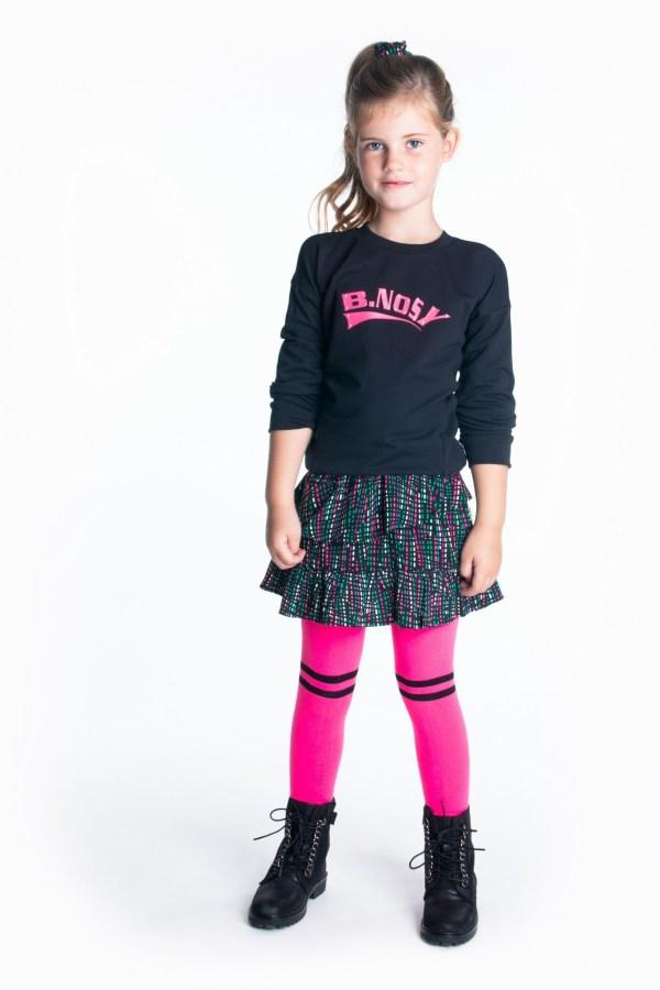 B.Nosy Meisjes sweater 'B.Nosy' - Zwart