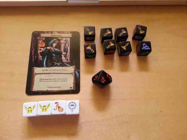 Dungeon Roll snel dobbelspel