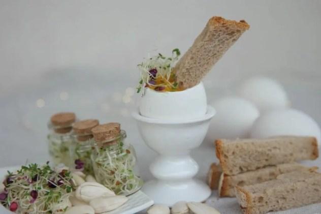 oeuf petit déjeuner idéal