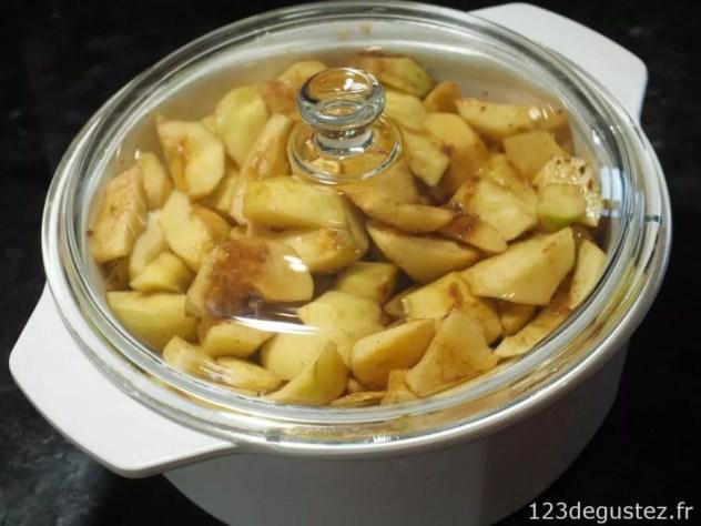 pommes confites
