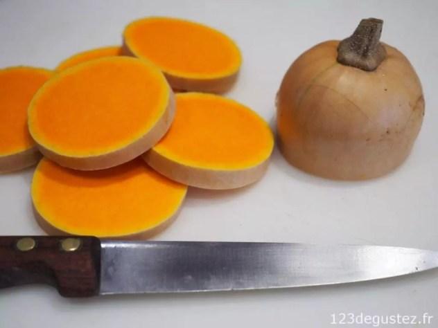 canapé de foie gras au butternut