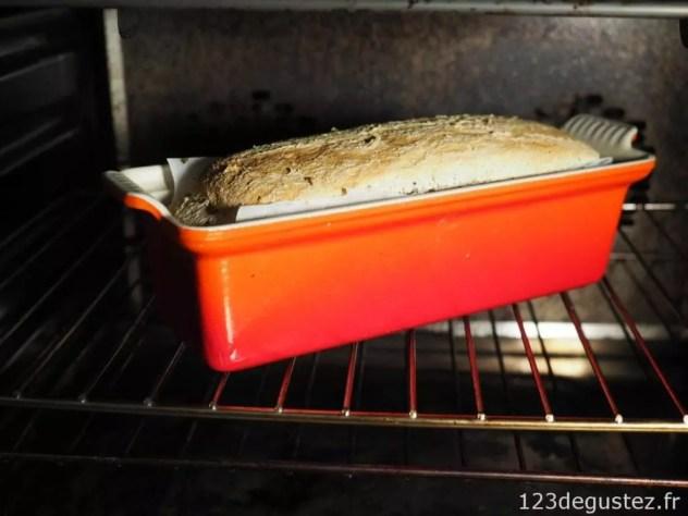 pain au petit epeautre au levain sans pétrissage et sans map
