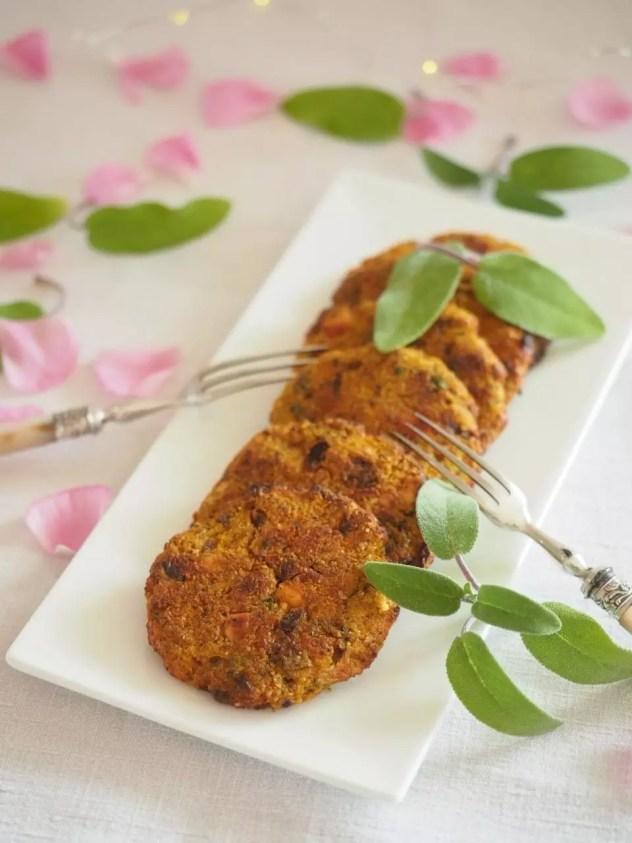 galette vegétarienne sans gluten