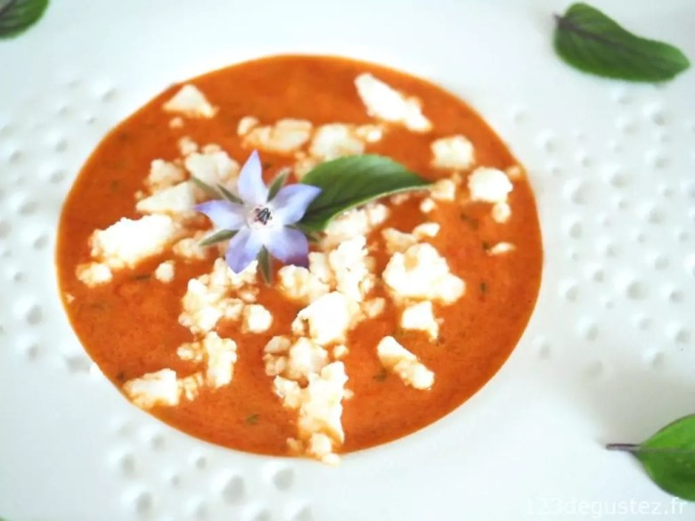 gaspacho poivron rouge