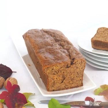 cake au potiron et noix