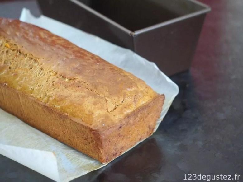 cake au potiron facile