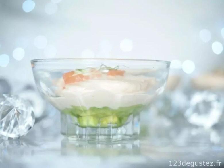 Verrine Saumon Fume A L Avocat 1 2 3 Degustez
