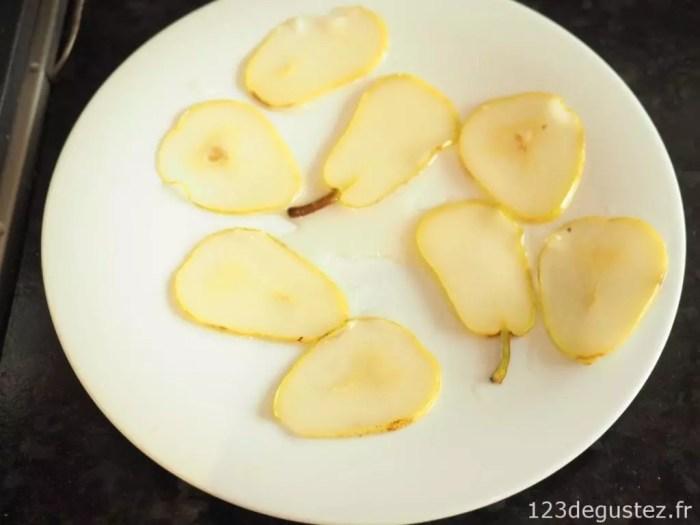 cristallines de poire