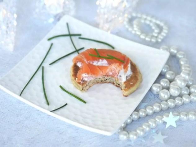 blinis facile au saumon