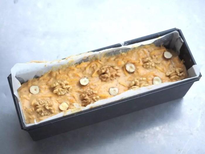 cake butternut et gingembr