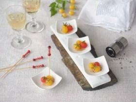 tomates cerises en gelée