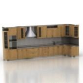 Luxury Wooden Kitchen Cabinet