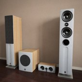 Wooden Stereo