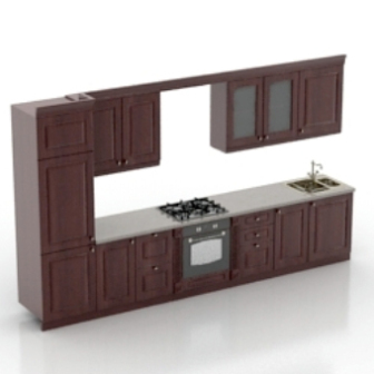 Awesome Modern Kitchen Cabinet Free 3Dmax Model Free Download Download Free Architecture Designs Scobabritishbridgeorg