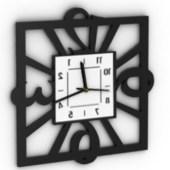 Decoration Framing Clock Free 3dmax Model