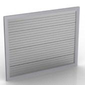 Modern Folding Door Free 3dmax Model