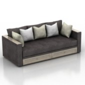 Modern Style Luxury Sofa 3dmax Free 3dmax Model